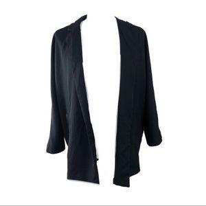 Zara boyfriend blazer oversized career black small